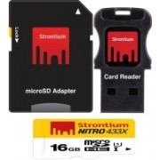 Strontium Nitro 16 GB SDHC Class 10 Memory Card(With Adapter)
