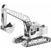 Playtastic Maquette 3D en métal : pelleteuse - 41 pièces