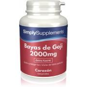Simply Supplements Bayas de Goji - 120 Comprimidos