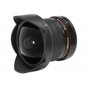 Canon Objetivo SAMYANG 8mm F3.5Csii Fish-Ey (Encaje: Canon EF-S - Apertura: f/3.5 - f/22)