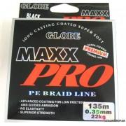 Леска плетёная Globe Maxx Pro PE 135 м (grey) 0,16 мм 9,1 кг Л01-00158