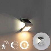 Shada Proiettore solare a LED con sensore movimento e crepuscolare 1,5W - DAYA