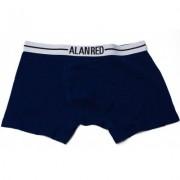 Alan Red Underwear Boxershort Lasting Blue / Black Two Pack - Blauw - Size: Large