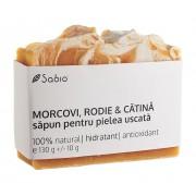 Sapun natural din Morcovi, Rodie si Catina pentru piele uscata, 130 g