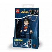 LEGO DC Super Heroes, Breloc cu laterna - Clark Kent