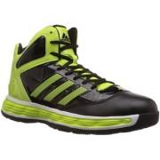 Adidas Men's Black Lace-up Sport Shoes