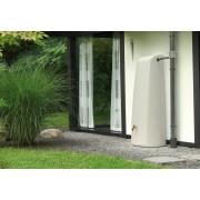 Rezervor de perete pentru apa de ploaie tip Elegance culoare Sand Beige 400lt.