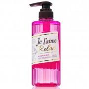 Kose Cosmeport «Je l'aime - Relax» Шампунь для волнистых волос «Выпрямление и гладкость», фруктово-цветочный аромат, 500 мл.