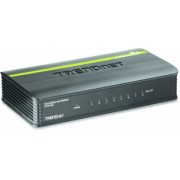 Switch Trendnet Fast Ethernet Mini TE100-S8, 10/20/100/200Mbps, 1.6Gbit/s, 8 Puertos – No Administrable