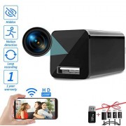 DZFtech E033 Fancy Smart Charger Hidden Camera,iOS/Android