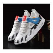 Zapatillas de hombre de primavera deporte y ocio azul y blanco