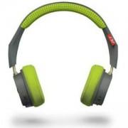 Слушалки Plantronics BackBeat 500, Bluetooth 4.1, универсална, сиво-зелени, 207850-01