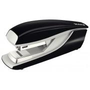 Capsator metalic de birou cu capsare plata, pentru maxim 30 coli, capse 24/6, negru, LEITZ 5505 NeXXt Series
