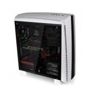 Gabinete Thermaltake Versa 27 con Ventana, Midi-Tower, ATX/Micro-ATX/Mini-ITX, USB 3.1/2.0, sin Fuente, Blanco/Negro