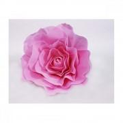 Flori Artificiale Trandafir 60cm Latex Roz