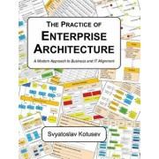 The Practice of Enterprise Architecture: A Modern Approach to Business and It Alignment, Hardcover/Svyatoslav Kotusev