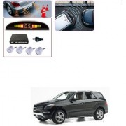 Auto Addict Car Silver Reverse Parking Sensor With LED Display For Mercedes Benz M-Class