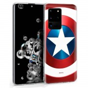 Cool Funda Marvel Capitán América para Samsung Galaxy S20 Ultra