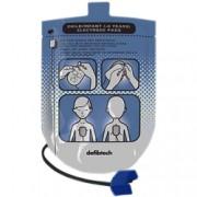 coppia piastre elettrodi monopaziente per defibrillatori defibtech lif