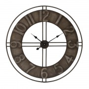 Ceas de perete din metal stil industrial Bigg