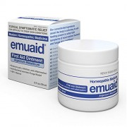 Emuaid Ointment - Antifungal, Eczema Cream. Regular Strength Treatment. Regular Strength for Athletes Foot, Psoriasis, Jock Itch, Anti Itch, Ringworm, Rash, Shingles and Skin Yeast Infection.