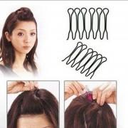 AliExpress 2 ST Haar Twist Clip Kapsels Haar Baret Metalen Black Haarspelden Haar Stijl Gereedschappen Accessoires Voor Haarspeldjes Hoofddeksels Hoofdtooi