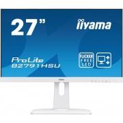 "IIYAMA 27"" iiyama B2791HSU-W1 - TN,FullHD,1ms,300cd/m2, 1000:1,16:9,VGA,HDMI,"