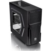 Thermaltake Versa H21 Tower Case with Side Window USB 3.0 and 12 cm Interior Fan - Black