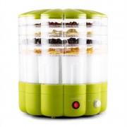 Klarstein Yofruit сушилник за плодове 5 тавички с уред за йогурт, зелен (TK19-Yofruit-G)