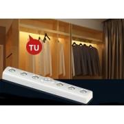 Světlo na senzor 19cm - napájení 3x 1,5V AAA baterie + automatické zapnutí