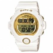 reloj digital estandar casio baby-g BG-6901-7 - blanco + oro