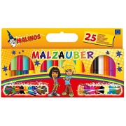 Toys Bhoomi Malinos 25 Piece Magic Color Pens 300029 - Made in Germany