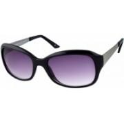 Joe Black Oval Sunglasses(Grey)