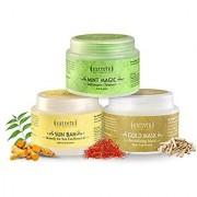 Sattvik Organics SkinRadiance Kit Deep Cleanses Rejuvenates Gives a Firm Fresh Look Restores Natural Fairness