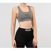 Nike Swoosh Bra Carbon Heather/ Anthracite/ Black