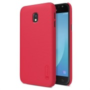 Samsung Galaxy J3 (2017) Nillkin Super Frosted Shield Cover - Rood