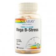 Solaray Mega B-Stress 120 kaps