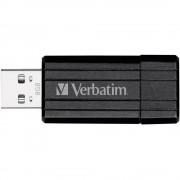 USB-ključ 8 GB Verbatim Pin Stripe crni 49062 USB 2.0
