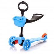 Three Wheel 2in1 roller - Blue