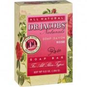 Dr. Jacobs Naturals Bar Soap - Castile - Rose - 6.5 oz