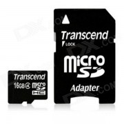 Transcend tarjeta de memoria flash microsdhc clase 4 de 16 GB TS16GUSDHC4