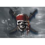 Fototapet Disney Piratii din Caraibe Craniu - 160 x 115 cm