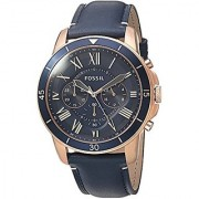 Fossil Analog Blue Dial Mens Watch-FS5237