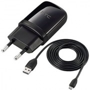 ViraTeck Original charger for HTC Desire 820/ 820Q/ 820S/ 820G+ - 1A HTC Charger Adpater with Cable - Black