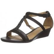 Clarks Women's Black Combi Fashion Sandals - 5.5 UK/India (39 EU)