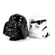 Capete de biblioteca Star Wars Darth Vader si Stormtrooper 15 cm