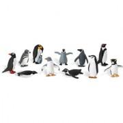 Pinguini Set figurine in tub
