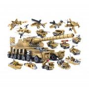 Kazi Super Tanques Militares Conjuntos De Bloques De Construcción 16 En 1 Ejército Ladrillos Modelo Brinquedos Juguetes, Rango De Edad: 6 Años De Edad Por Encima De