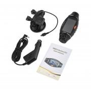 EY 2.7 De Doble Lente De Cámara DVR Coche GPS Tracker 1080P Visión Nocturna Video Recorder'-Negro
