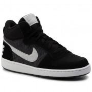 Pantofi NIKE - Court Borough Mid Se (Gs) 918340 007 Black/Piure Platinum/Cool Grey